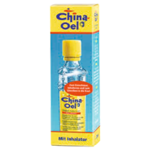 CHINA ÖL mit Inhalator